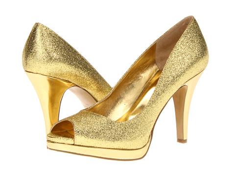 Pantofi Nine West - Danee - Medium Gold Synthetic