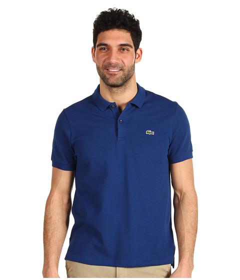 Tricouri Lacoste - L!VE S/S Solid Pique Polo - Encrier