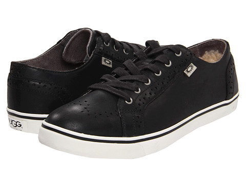 Pantofi UGG - Roxford - Black Leather 2