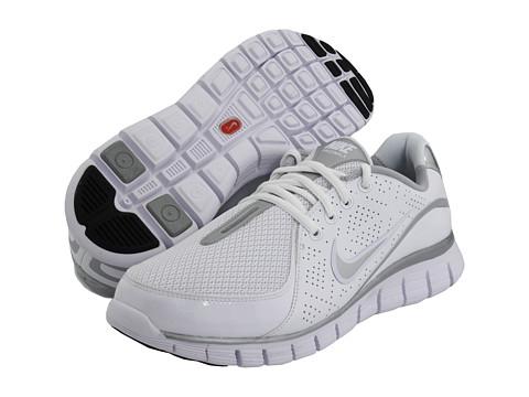 Adidasi Nike - Free Walk+ - White/Metallic Silver-Black
