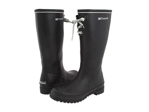 Cizme Tretorn - Sofiero Rubber Rain Boot - Wide Calf - Black