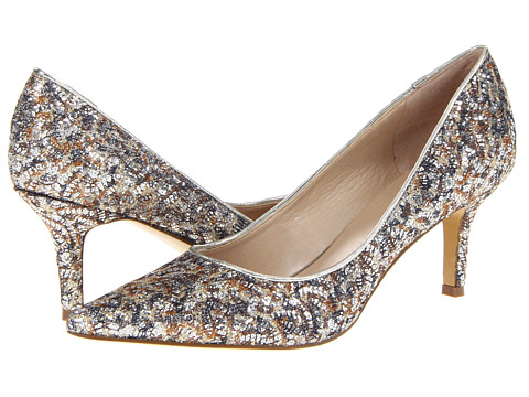 Pantofi Nine West - Austin - Silver/Silver Fabric