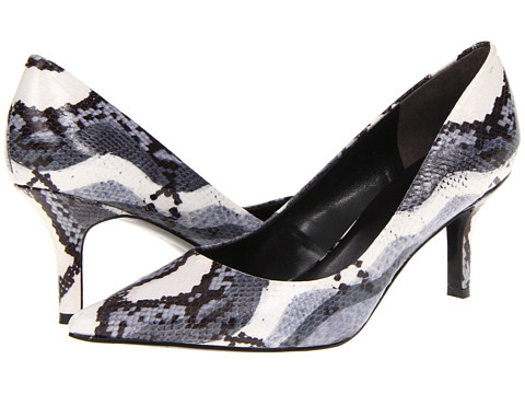 Pantofi Nine West - Austin - Black Multi Reptile Synthetic