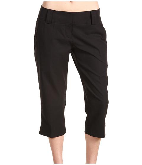 Pantaloni adidas Golf - ClimaCoolÃ'® Capri Pant - Black/White/White