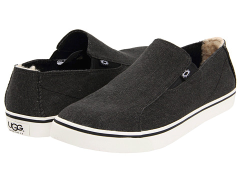 Pantofi UGG - Bracken Canvas - Black Canvass