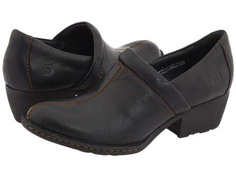 Pantofi Born - Kinney - Black Full-Grain Leather