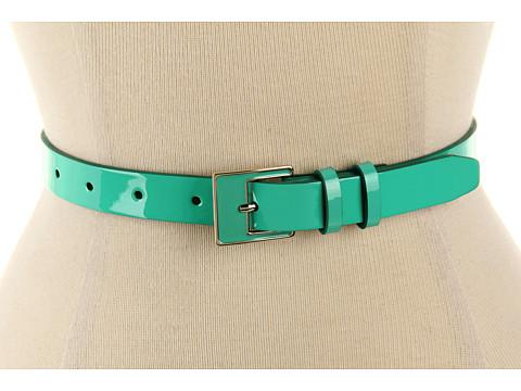 Curele Cole Haan - Enamel Dressy Belt - Green Thumb