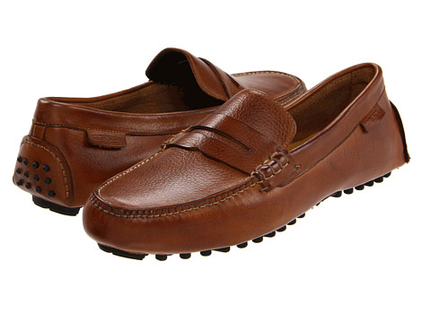Pantofi Cole Haan - Air Grant Penny Loafer - Tan Grain