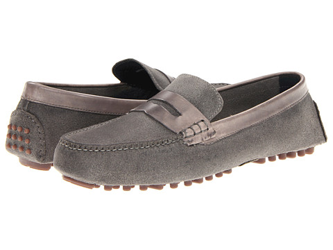 Pantofi Cole Haan - Air Grant Penny Loafer - Ironstone Suede