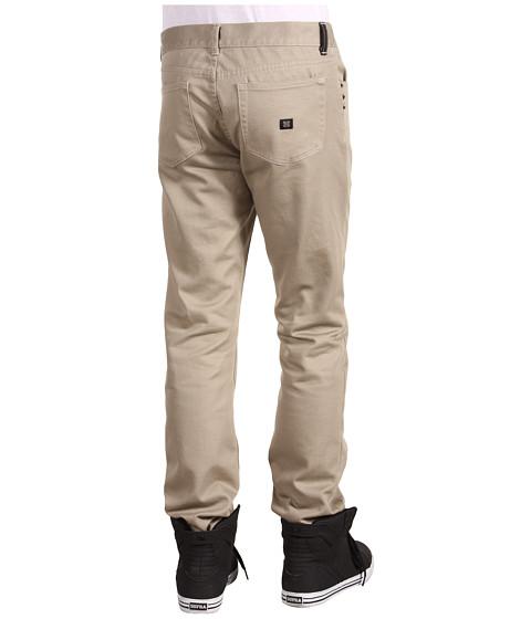 Pantaloni KR3W - K Slim Twill - Dark Khaki