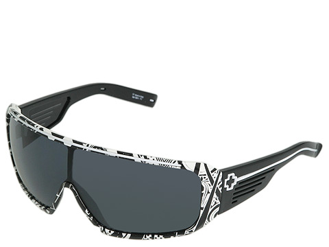 Ochelari Spy Optic - Tron - White Crazy Print/Grey Lens