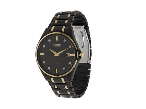 Ceasuri Citizen Watches - AU1058-53G - Two Tone/Gold/Diamonds and Black
