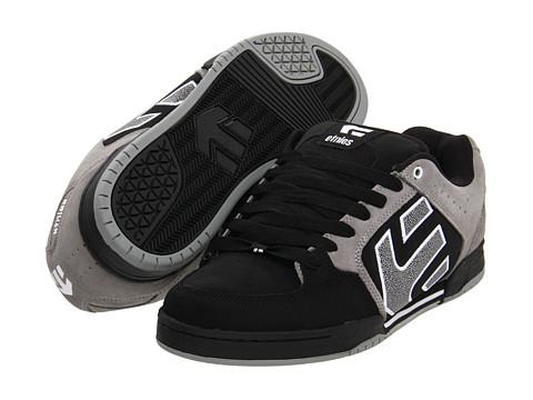 Adidasi etnies - Charter - Black/Grey/White (Suede/Action Nubuck)