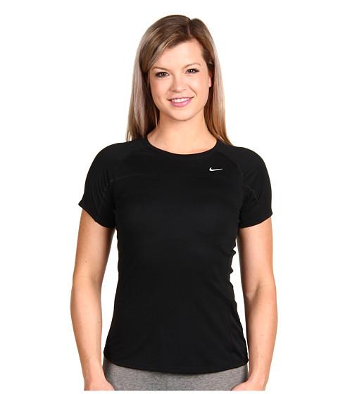 Tricouri Nike - Miler S/S Team - Black/Black/Reflective Silver