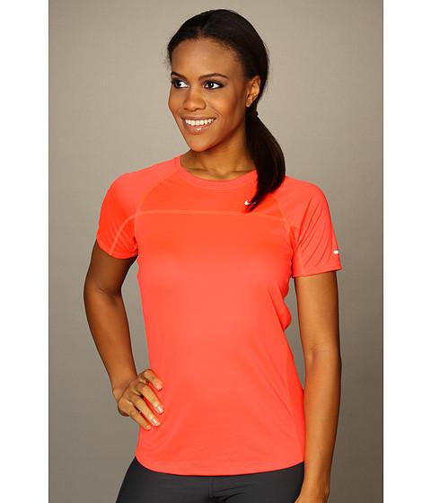 Tricouri Nike - Miler S/S Team - Bright Crimson/Bright Crimson/Reflect Silver