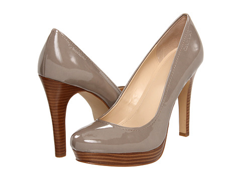 Pantofi Calvin Klein - Kendall - Mink Patent