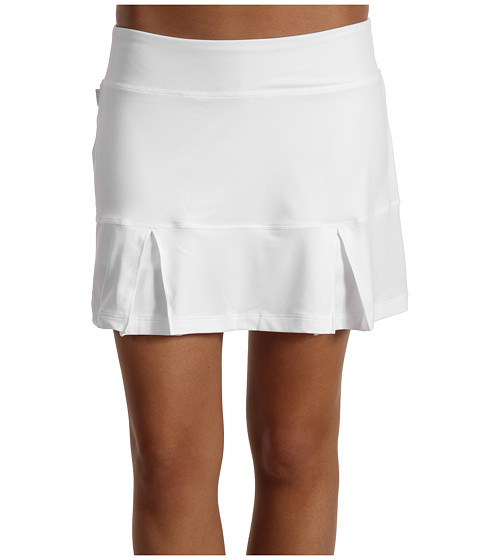 Fuste Nike - Power Pleated Skirt - White/Black