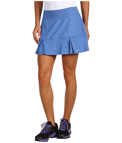 Fuste Nike - Power Pleated Skirt - Lake Blue/White