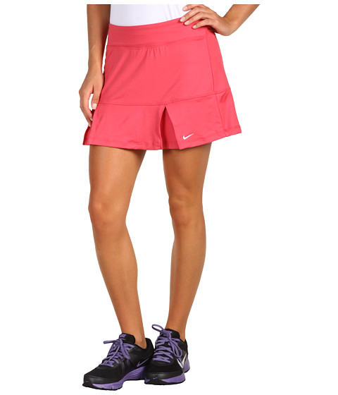 Fuste Nike - Power Pleated Skirt - Pink Clay/White