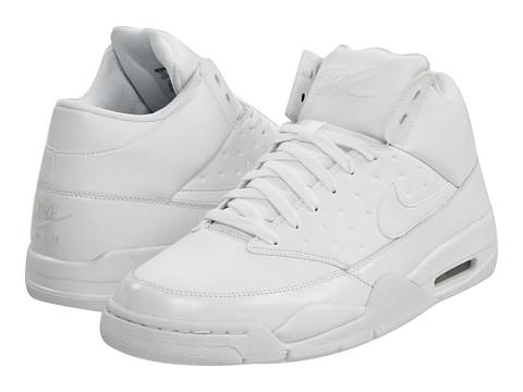 Adidasi Nike - Air Flight Classic - White/White/White