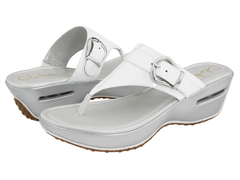 Sandale Cole Haan - Air Maddy Tant Thong - Optic White Patent