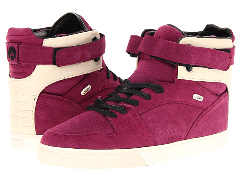 Adidasi Osiris - Rhyme RMX - Plum/Black/Cream