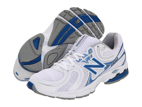 Adidasi New Balance - WW860 - White/Blue