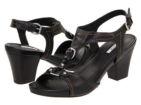 Pantofi Geox - D Taormina 2 - Black Leather