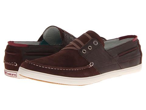 Pantofi Tretorn - Smögensson Suede - Chestnut