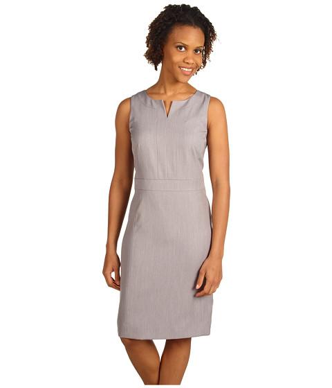 Rochii Anne Klein - Sleeveless Shift Dress - Pale Grey