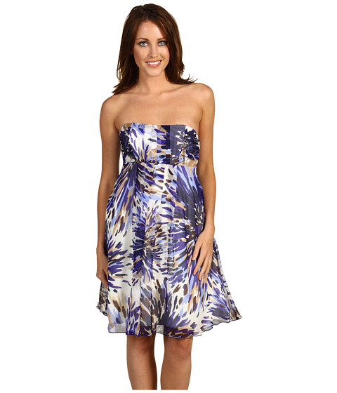 Rochii ABS Allen Schwartz - Strapless Empire Waist Dress - Sapphire