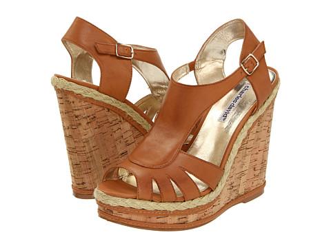 Sandale Charles David - Granite - Camel Leather