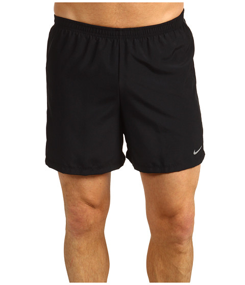 Pantaloni Nike - Five-Inch Woven Reflective Short - Black/Black/Anthracite/Reflective Silver