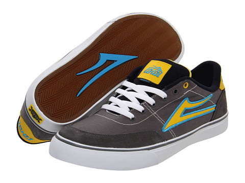 Adidasi Lakai - Encino - Grey/Yellow Canvas