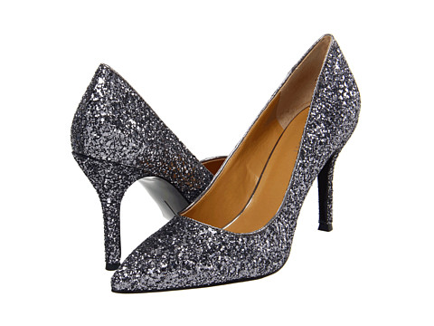 Pantofi Nine West - Flax - Gunmetal Glitter
