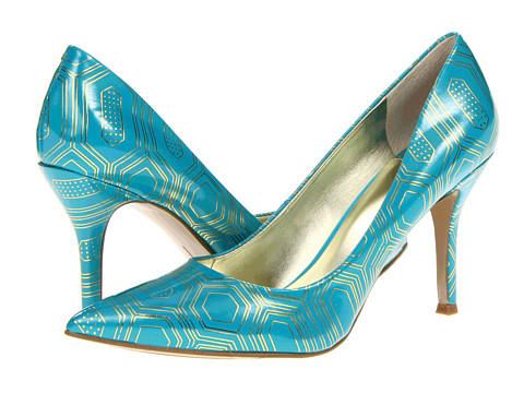 Pantofi Nine West - Flax - Turquoise Synthetic