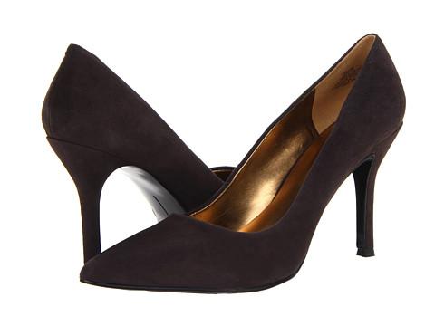 Pantofi Nine West - Flax - Dark Grey Suede