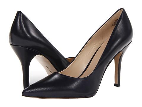 Pantofi Nine West - Flax - Navy Leather