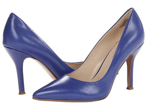 Pantofi Nine West - Flax - Dark Blue Leather Leather