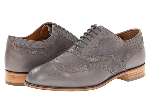 Pantofi Florsheim - Marlton Limited - Gray Leather/Suede