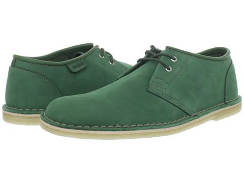 Pantofi Clarks - Jink - Green Nubuck