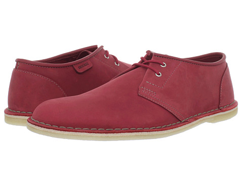 Pantofi Clarks - Jink - Red Nubuck