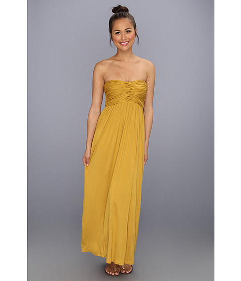 Rochii Type Z - Liliana Maxi Dress - Mustard