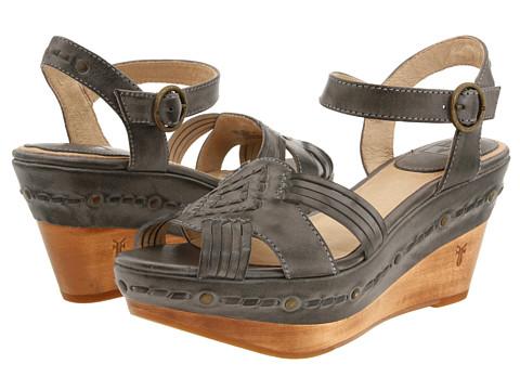 Sandale Frye - Carlie Huarache Ankle - Slate Leather