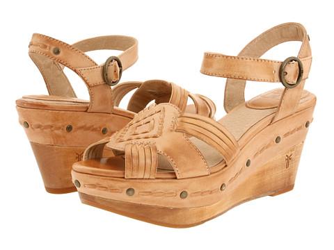 Sandale Frye - Carlie Huarache Ankle - Natural Leather