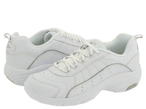 Adidasi Easy Spirit - Punter - White/Light Grey Leather