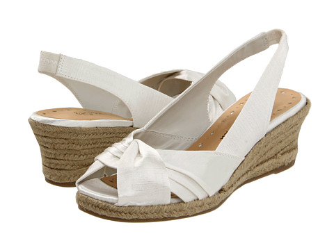 Sandale Bella-Vita - Sangria - White Thai Silk