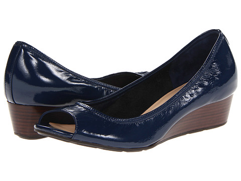 Pantofi Cole Haan - Air Tali OT Wedge 40 - Blazer Blue Patent