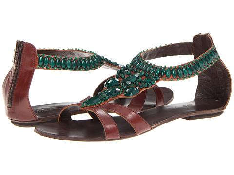 Sandale MIA - Tigris - Brown/Emerald