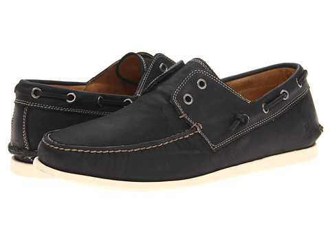 Pantofi John Varvatos - Schooner Boat - Black